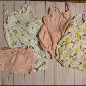 Lot of Baby Girl Summer Clothes